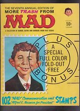 "Vintage 1964 ""More Trash From MAD"" 7th Annual Edition Alfred E Neuman BBA"