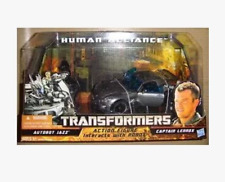 Hasbro transformers movie 2 league jazz with American soldiers motorcyclesr