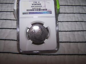 1798 Large Cent NGC VF