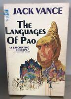 Science Fiction Book Paperback Vintage Jack Vance Languages of Pao