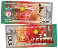 ✔ Russland Souvenir banknote 100 rubles 2019 LIVERPOOL UNC