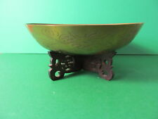 Old Chinese  bowl with base