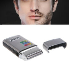 2 in 1 Stainless Steel Men's Electric Reciprocating Rechargeable Shaver Razor