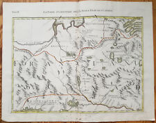 Zatta Large Original Map Quebec Mistassini Canada - 1779