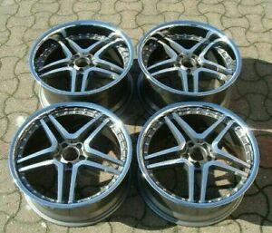 """Mercedes CL SL CLS CLK SLK S Class x4 19"""" Deep Dish 647 Alloy Wheels 8.5J/9.5J"""