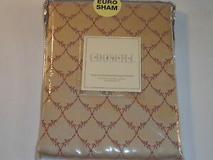 Croscill Home Euro Pillow Sham - Conservatory Cream