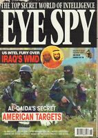 Eye Spy Magazine  Vol.3 #18 Ali Al-Majid Meir Dagan Jack Straw  053019DBE