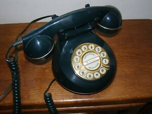 Vintage style Landline Phone Astral Kensington Green Push Button telephone