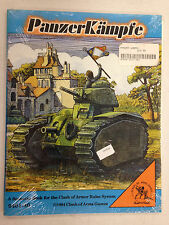 1994 CLASH OF ARMOR GAMES PANZER KAMPFE SCENERIO BOOK MODULE ARMOR RULES SYSTEM