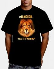 I am Cecil the Lion Men's/Unisex Shirt BLACK OR WHITE