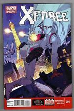 X-FORCE #4 - JORGE MOLINA ART & COVER - SIMON SPURRIER SCRIPTS - 2014