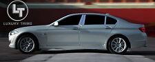 BMW 5 Series F10 Stainless Chrome Pillar Posts by Luxury Trims 2011-2015 (6pcs)