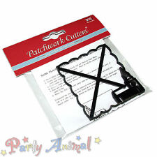 Sugarcraft Patchwork Cutters - Name place setting B Church Wedding Embosser Tool