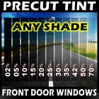 Nano Carbon Window Film Any Tint Shade PreCut Front Doors for Chevy Trucks Glass