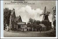 HAMBURG Reprint-AK anno 1930 Finkenwärder Hof und Mühle Stadtteil Finkenwärder