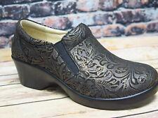 Alegria Eryn Bronze Swish Leather Slip On  *ERY-184