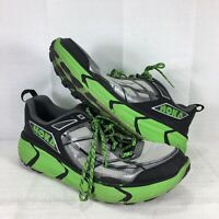 Hoka One One Challenger 1 ATR Men's Trail Running Shoes green silver Size 10.5