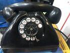 Army Signal Corps Bakelite Rotary Dial Desk Set Vtg Telephone 1950 TP 6A