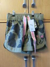 PUMA WINDCELL First Mile Women's Woven Running Shorts - Camouflage - Size S  NEW