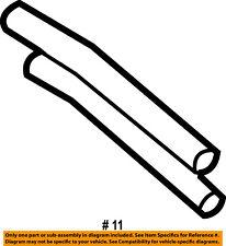 FORD OEM-Power Steering Return Hose-Lower 6L3Z3A713E