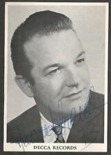 Real Photo Fernando Corena Switz Opera Bass Original Signed 1973