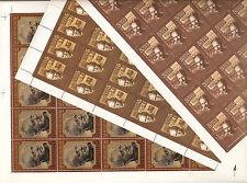 USSR 1985...n° 5214-16...MNH...YT 29,10€..MIKHAIL SHOLOKHOV....(3 SHEETS)