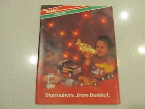 "1978 - 1979 Buddy L full line catalog, 39 pgs, VG, ""Pre-Fair Special Edition"""