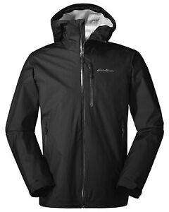 New Eddie Bauer BC Alpine Lite Jacket Medium Black NWT