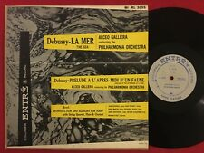 DEBUSSY LA MER PRELUDE RAVEL ALCEO GALLIERA INTRO ALLEGRO FOR HARP ENTRE RL3055