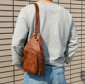 Leather Handbag, Backpack with Single Strap