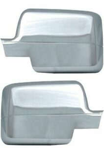 Brand New Pair Set of Chrome Mirror Covers for 2004-2008 Ford F150