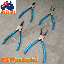 "7"" Internal/External Bent/Str. Circlip Plier Snap Ring Pliers Individual or Set"
