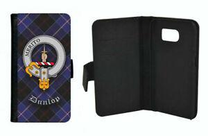 Dunlop Clan Flip Case for Apple iPhone & Samsung Galaxy - Scottish
