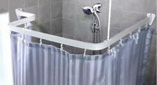 Duschvorhangstange Flexibel Duschvorhangschiene  weiss biegsam bis 300 cm