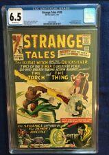 Strange Tales #128 - CGC 6.5  - Off-White Pages - Dr.Strange