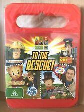 to The Rescue ABC 4 Kids Fireman Sam Postman Pat Peter Rabbit PAL DVD