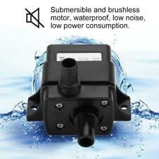 12V DC Ultra-Quiet small Submersible Water Pump for Fountain Fish Aquarium