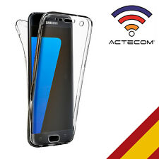 ACTECOM® FUNDA 360 DOBLE GEL SILICONA TRANSPARENTE PARA SAMSUNG GALAXY S5