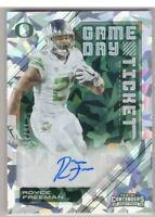 2018 Contenders Royce Freeman Rookie Auto Cracked Ice /23 Denver Broncos