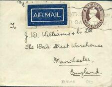 426871) Burma / Birma GSU Indien aus Rangoon, Luftpost 1931 n. GB