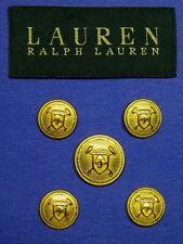 1 Set RALPH LAUREN Blazer SUIT BUTTON 4 hole 24//36 Replacement  Dk Grey 14 pc