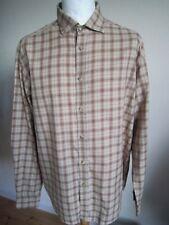 Para Hombre Ralph Lauren Purple Label L/S Shirt XL-XXL T Top De Cuadros Clásico Calce Perfecto