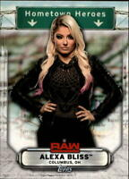 2019 Topps WWE Raw Wrestling Insert Singles (Pick Your Cards)
