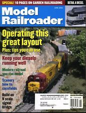 Model Railroader Magazine June 2002 Special! 10 pages on garden railroading