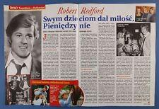Robert Redford HALINA KUNICKA Irena Jarocka,Krzysztof Cugowski,Jadwiga Smosarska