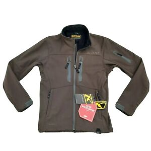 New Klim Inversion Jacket Brown Size Small 3349-005-120-900 Wind Stopper $229.99