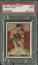 1951 Topps Ringside Boxing #45 Barney Ross PSA 7 NM