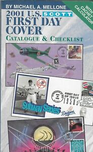 (14) Scott 2001 US First Day Cover Catalogue & Checklist