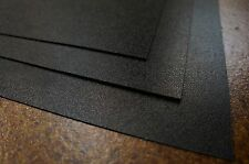 "1 Black HDPE Polyethylene Plastic Sheet/Mat/Cover 24""x24""x1/16"" (0.06"")"