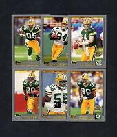 2001 Topps Collection Green Bay Packers TEAM SET Brett Favre